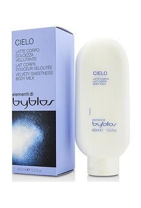 Byblos Elementi Cielo Velvety Sweetness Kadife Yumuşaklığı Kadın Vücut Sütü 400Ml