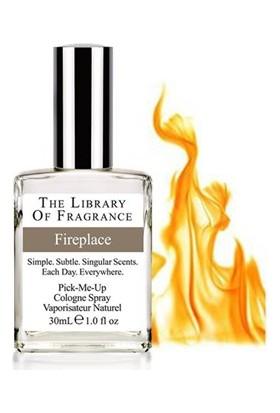 The Library Of Fragrance Fireplace Edc Sprey 30Ml Erkek Parfümü