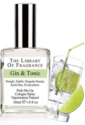 The Library Of Fragrance Gin & Tonic Edc Sprey 30Ml Erkek Parfümü
