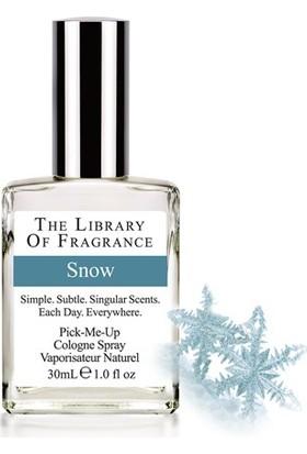 The Library Of Fragrance Snow Edc Sprey 30Ml Erkek Parfümü