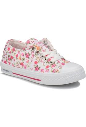 Kinetix Dennı F Beyaz Pembe Sarı Kız Çocuk Sneaker Ayakkabı