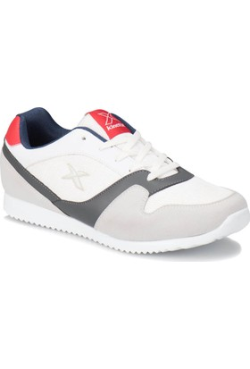 Kinetix Odell M Beyaz Lacivert Kırmızı Erkek Sneaker Ayakkabı