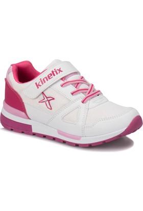 Kinetix Rıvero Beyaz Fuşya Kız Çocuk Sneaker Ayakkabı