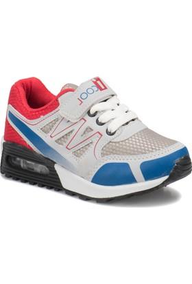 I Cool Andreas Gri Kırmızı Erkek Çocuk Sneaker Ayakkabı