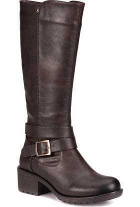 Kinetix A1306484 Kahverengi Kadın Çizme