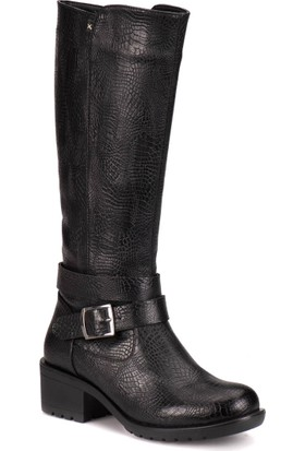 Kinetix A1306899 Siyah Kadın Çizme