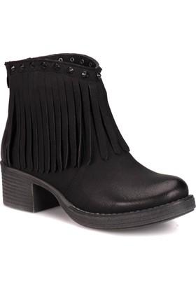 Kinetix A1306509 Siyah Kadın Çizme