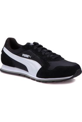 Puma St Runner Nl-1 Siyah Beyaz Erkek Sneaker Ayakkabı
