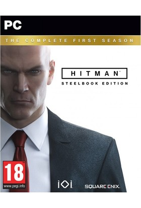 Pc Hitman Complete First Season Steelbook Edition