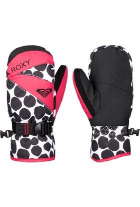 Roxy Jetty Girl Mitt Çocuk Kayak Eldiveni Siyah