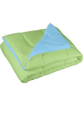 İrya Çift Kişilik Çift Taraflı Yorgan - Yeşil Mavi