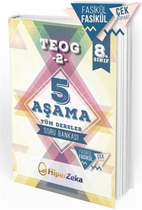 Hiper Zeka Yayınları Teog-2 5 Aşama Tüm Dersler Soru Bankası