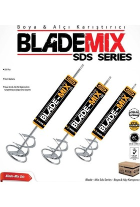 Sgs Blade Mix Boya & Alçı Karıştırıcı 100 X 500