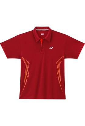 Yonex Badminton Tenis L-2262 Kadın Polo -Kırmızı