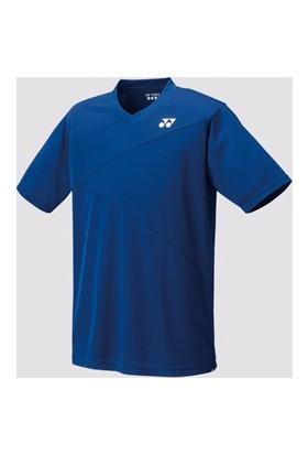 Yonex Badminton Tenis M10150 V-Yaka Tişört Unısex -Lacivert