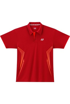 Yonex Badminton Tenis M-1262 Polo -Kırmızı