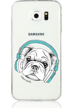 MobilGiydir Samsung Galaxy Note 4 Cool Köpek Paşa Silikon Kılıf