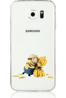 MobilGiydir Samsung Galaxy Note 5 Muzlu Minion Silikon Kılıf