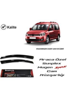 Sunplex Volkswagen Caddy Sunplex Mugen Tip 2'Li Cam Rüzgarlığı