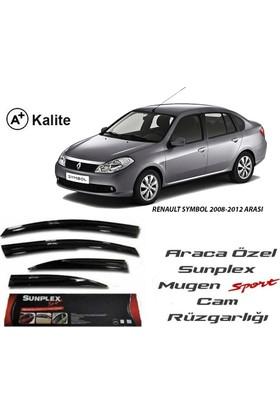 Sunplex Renault Symbol 2008-2012 Arası Sunplex Mugen Tip 4'Lü Cam Rüzgarlığı
