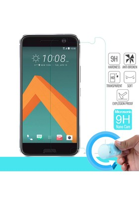 Microsonic HTC 10 Nano Cam Ekran koruyucu film
