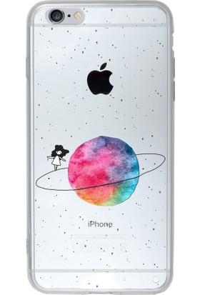 Microsonic Apple iPhone 6S Desenli Kılıf Gezegen