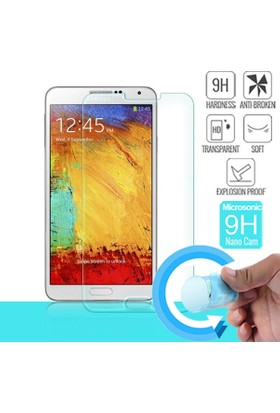Microsonic Samsung Galaxy Note 3 Nano Cam Ekran koruyucu film