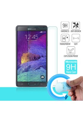 Microsonic Samsung Galaxy Note 4 Nano Cam Ekran koruyucu film