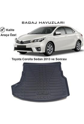 Gün-San Toyota Corolla Sedan 2013 Ve Sonrası 3D Bagaj Havuzu