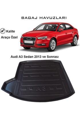 Gün-San Audi A3 Sedan 2013 Ve Sonrası 3D Bagaj Havuzu
