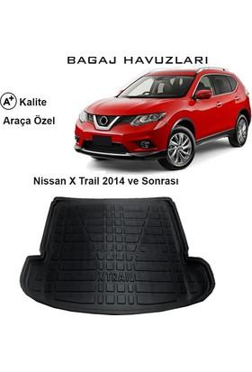 Gün-San Nissan X-Trail 2014 Ve Sonrası 3D Bagaj Havuzu