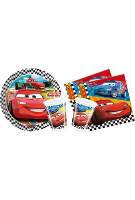 Alins Cars 8 Kişilik Parti Seti