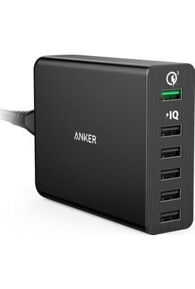 Anker PowerPort+ 6 QuickCharge 3.0 Hızlı Seyahat Şarj Cihazı 6 Portlu