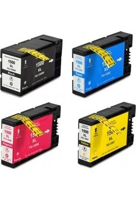 Ekoset Canon Pgı-1500Xl 4 Renk Muadil Kartuş