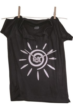 Antartidee T-Shirt Duvar Saati / T Shirt Wall Clock