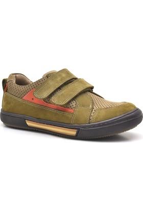 Raker® 3506-K3 %100 Deri Cırtlı Erkek Çocuk Ayakkabısı