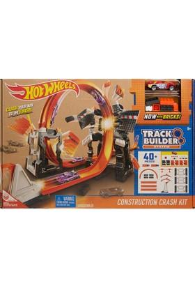 Hot Wheels Track Builder Bloklu Mega Yıkım Yarış Seti Dww96