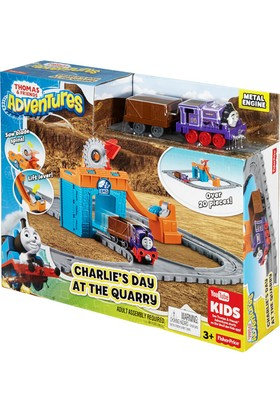 Thomas Friends Adventures Charlie Maden Macerası Oyun Seti Fbc59