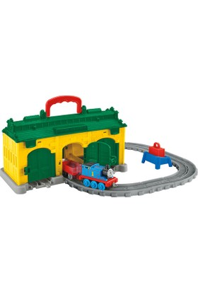Thomas Friends Adventures Tidmouth Kulübesi Oyun Seti Fdv71