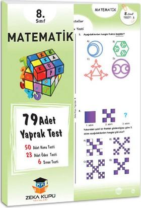 Zeka Küpü Yayınları 8. Sınıf Matematik Yaprak Test