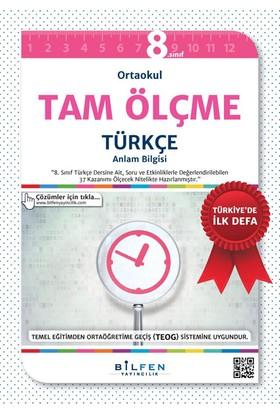 Bilfen Yayınları 8. Sınıf Tam Ölçme Türkçe Soru Bankası