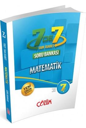 Çözüm Yayınları 7. Sınıf 7'de 7 Tam İsabet Matematik Soru Bankası