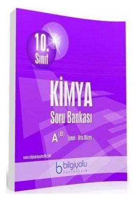 Bilgi Yolu Yayınları 10. Sınıf Kimya Soru Bankası