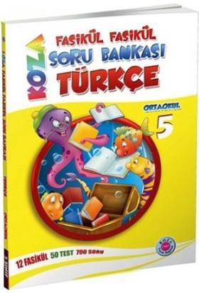 Koza Yayınları 5. Sınıf Türkçe Fasikül Soru Bankası