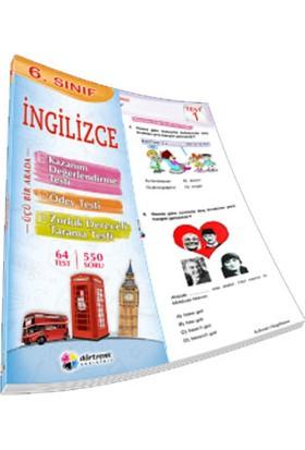 Dörtrenk Yayınları 6. Sınıf İngilizce Yaprak Test