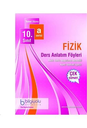 Bilgi Yolu Yayınları Fizik 10 A Serisi 2. Dönem