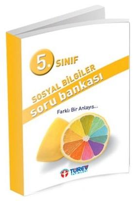 Türev Yayınları 5. Sınıf Sosyal Bilgiler Soru Bankası