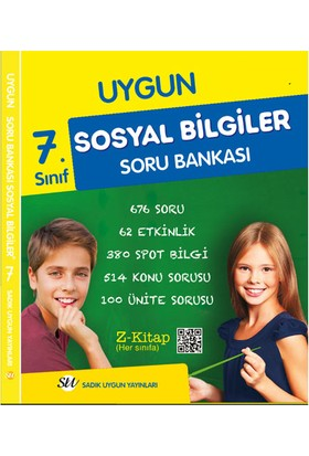 Uygun Yayınları 7. Sınıf Sosyal Bilgiler Soru Bankası