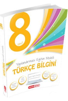 Kırmızı Beyaz Yayınları 8. Sınıf Türkçe Bilgini