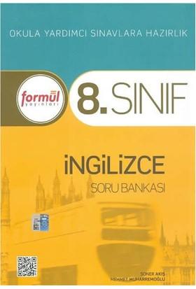 Formül Yayınları 8. Sınıf İngilizce Soru Bankası